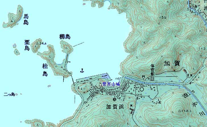 加賀要害山城