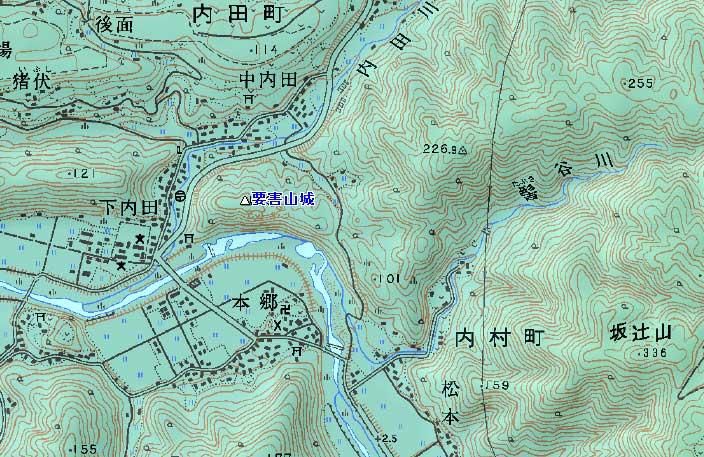 内田要害山城
