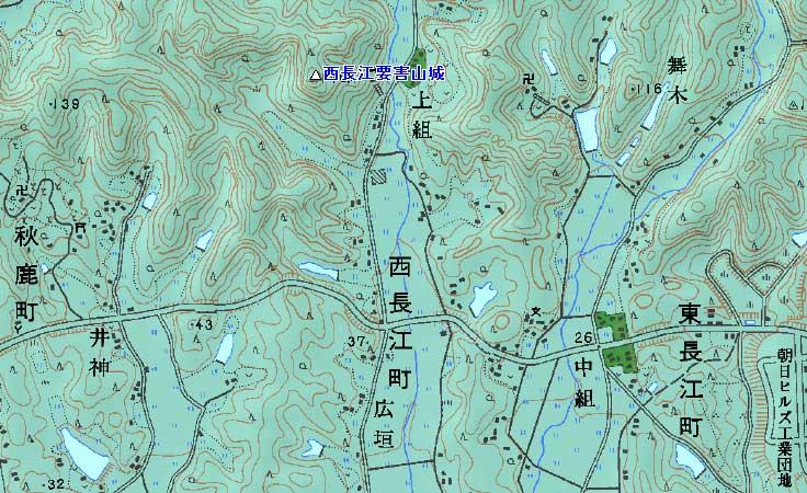 西長江要害山城