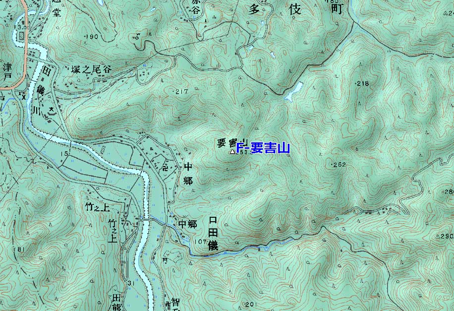 多伎要害山