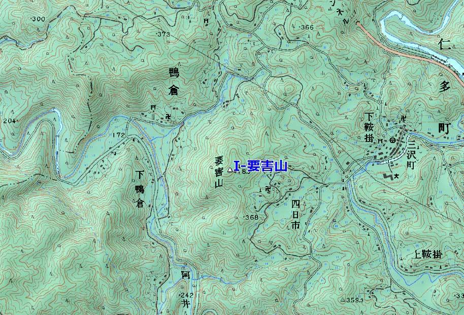 三沢要害山
