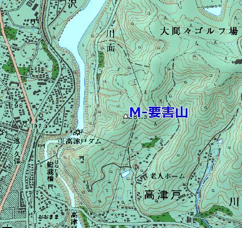 高津戸要害山
