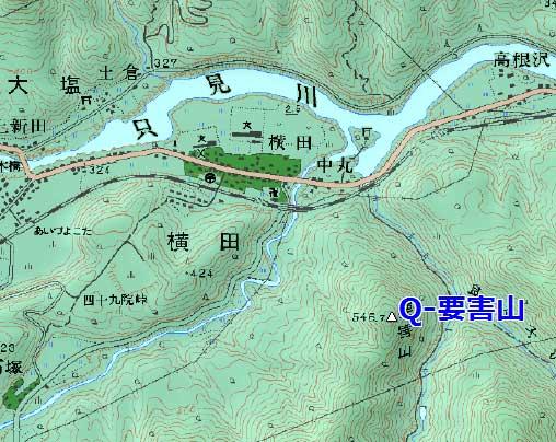 会津要害山