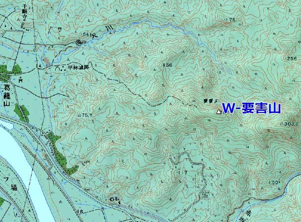 平林城害山