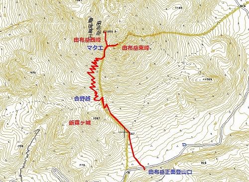 EX.登山マップ