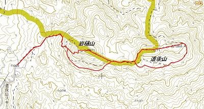 道後山マップ