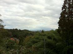 はるかかなたに大山がみえるのわかりますか?