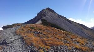 白馬岳へ3